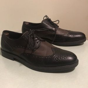 Timberland wing tip Oxford shoes